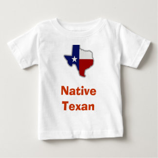 Camiseta nativa del Texan del bebé Playeras