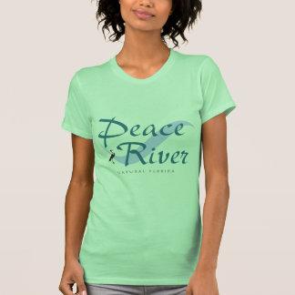 Camiseta natural de Peace River la Florida