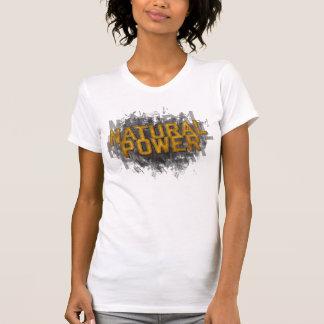Camiseta natural del poder