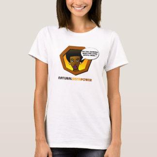Camiseta natural del poder de Sista