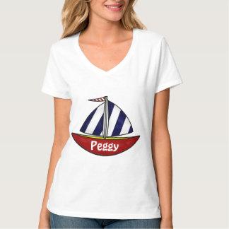 Camiseta náutica del velero camisas
