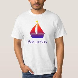 Camiseta náutica del velero de Bahamas Poleras