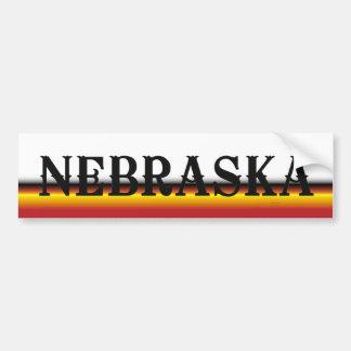 CAMISETA Nebraska Etiqueta De Parachoque