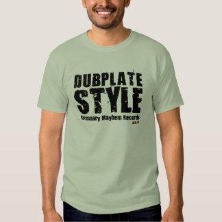 Camiseta necesaria del estilo de Dubplate de la Polera