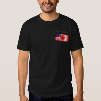 Camiseta negra de AMERICANADIAN Poleras