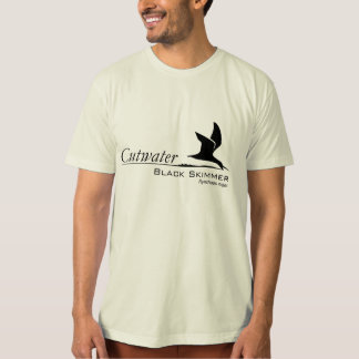 Camiseta negra de Birding de la desnatadora
