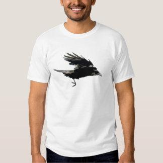 Camiseta NEGRA de los Cuervo-amantes del CUERVO Remeras