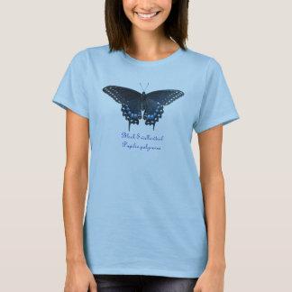 Camiseta negra de los polyxenes de Swallowtail