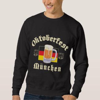 Camiseta negra de Oktoberfest Munchen Sudadera Con Capucha
