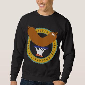 Camiseta negra de Oktoberfest Weiner
