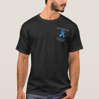 Camiseta negra del CFS - diseño bolsillo