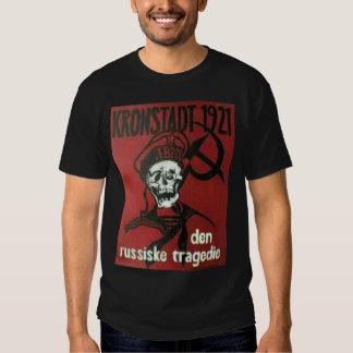 camiseta negra del kronstadt playeras