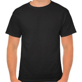 Camiseta negra del logotipo de los nuevos océanos