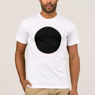 Camiseta negra del punto