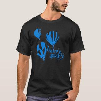 Camiseta negra del rezo de Aiden (globos del aire