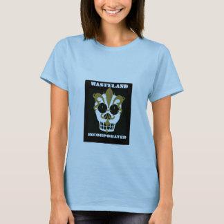 Camiseta negra incorporada tierra de Majic