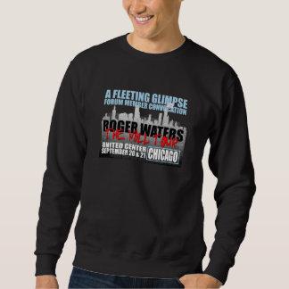 Camiseta negra para hombre de la convocación de sudadera con capucha