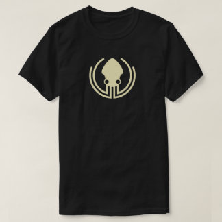 Camiseta negra v2.0 de GitKraken