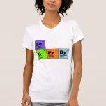 Camiseta Nerdy de la tabla periódica
