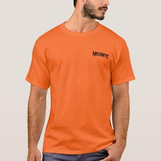 Camiseta neurótica del humor