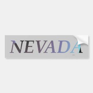 CAMISETA Nevada Etiqueta De Parachoque