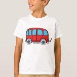 Camiseta niña furgoneta hippie van