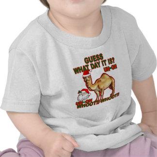Camiseta NJ png del navidad de Santa del camello d