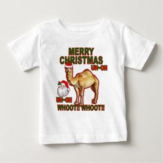 Camiseta NM.png del navidad de Santa del camello Playera