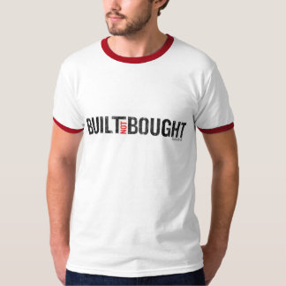 Camiseta no comprada construida del campanero del camisas