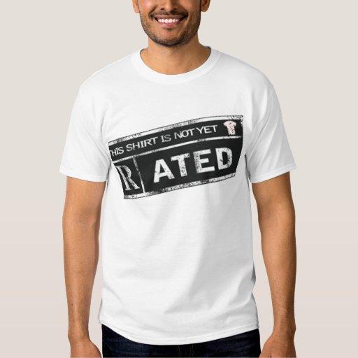 Camiseta no todavía clasificada del logotipo playeras