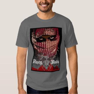 Camiseta noble desagradable exclusiva playera