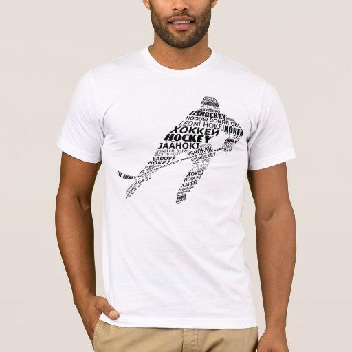 Camiseta, nombre y número de la tipografía de las playera