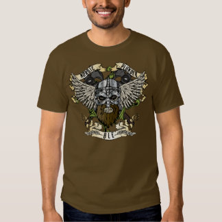 Camiseta nórdica de la cerveza inglesa del pillaje playera