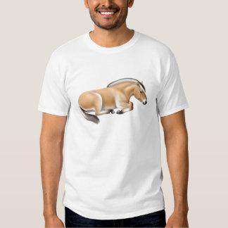 Camiseta noruega del caballo del fiordo camisas