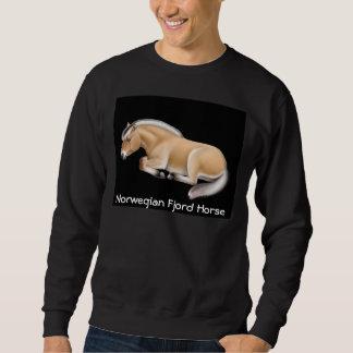 Camiseta noruega del caballo del fiordo suéter