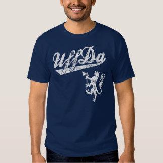 Camiseta noruega del león de Uff DA Poleras