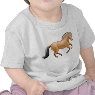 Camiseta noruega del niño del caballo del fiordo
