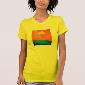 """Camiseta nube de lluvia"""" del oro de las mujeres de"""
