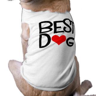 Camiseta nupcial del perro camiseta de perrito