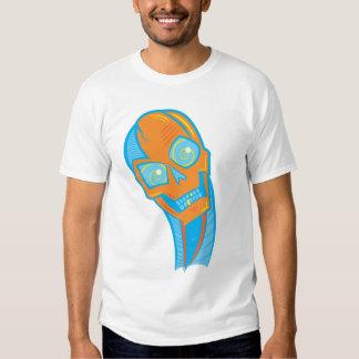 Camiseta observada espiral del cráneo remera