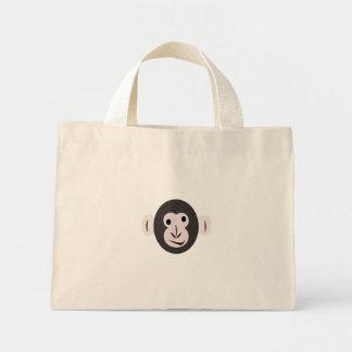 Camiseta observada loca del chimpancé bolsa