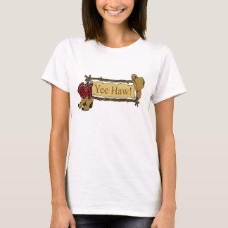 """""""Camiseta occidental de la vaquera del Haw de Yee"""" Playera"""