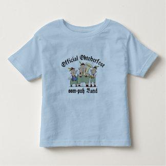 Camiseta oficial de la banda de Oktoberfest Oom Playera
