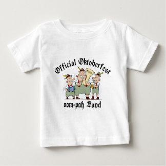 Camiseta oficial de la banda de Oktoberfest Oom Playeras