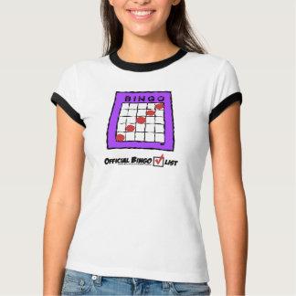 ¡Camiseta oficial de la lista de control del Playera