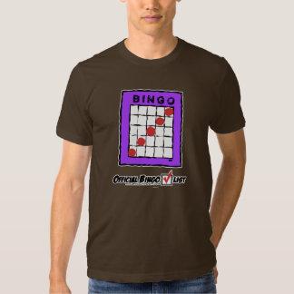 ¡Camiseta oficial de la lista de control del Playeras