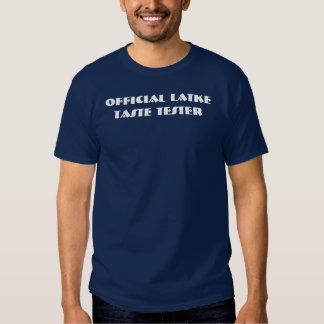 Camiseta oficial de la oscuridad del probador del playeras