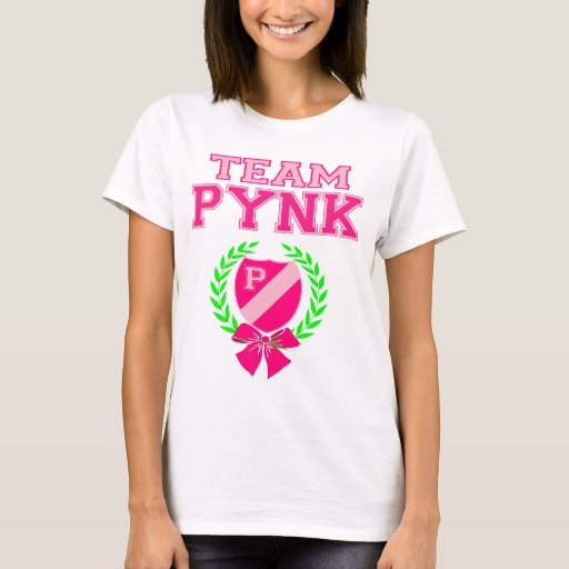 Camiseta oficial de Pynk del equipo (blanca)