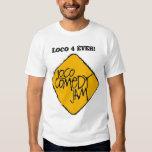 Camiseta oficial del atasco de la comedia del loco playera