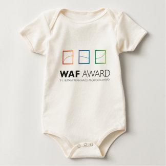 Camiseta oficial del bebé del premio de WAF